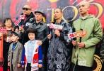 10月17日,动作电影《纹身:西部纵横》在宁波象山影视城举办发布会暨开机仪式。