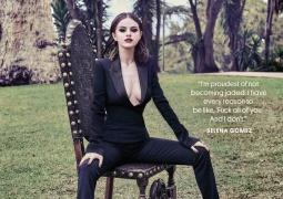 赛琳娜·戈麦斯曝最新封面写真 双腿大开狂野性感