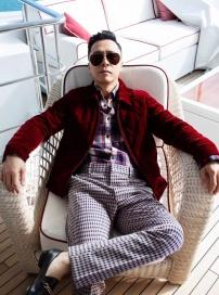 多次拒绝好莱坞的男人 甄子丹新年首登杂志封面