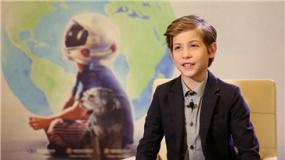 """11岁""""准影帝""""雅各布:爱看成龙电影想拍动作片"""