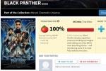 美国漫威超级英雄电影《黑豹》烂番茄评分解禁