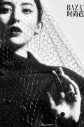 娜扎登芭莎封面复古造型模仿赫本 网友金沙娱乐亮了