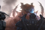 """好莱坞科幻动作电影《环太平洋:雷霆再起》发布了""""决一死战""""版终极预告和海报,将影片里险象迭生的故事情节再次揭开一角。人类家园惨遭袭击,机甲驾驶员操控升级回归的机甲与怪兽进行殊死大战,惊心动魄的场面让人期待不已。同时曝光的海报也颇为酷炫,机甲战队和怪兽呈对峙交锋状态,仿佛一场激战即将震撼登场。据悉,影片将于3月23日全国正式上映。"""
