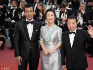 《江湖儿女》首映红毯众星齐聚 范冰冰张震亮相