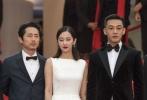 当地时间5月16日,李沧东新片《燃烧》在法国戛纳举行首映礼,众主创也悉数亮相戛纳电影节红毯。