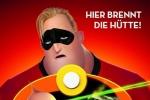 《超人总动员2》国际版海报 宝宝巴小杰发射激光