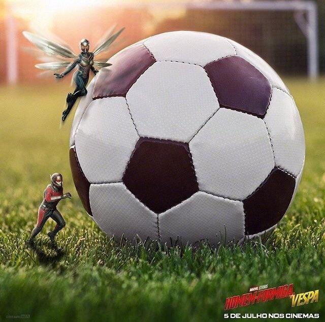 《蚁人2》曝世界杯海报 北美评论解禁口碑良好