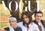 近日,贝克汉姆一家登上英国版《Vogue》十月刊的封面。