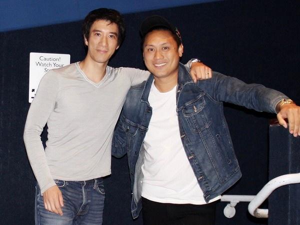 王力宏力挺好莱坞亚裔电影 请百人看《摘金奇缘》