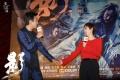 《影》上海首映礼 邓超自曝曾因体力不支瘫倒在地