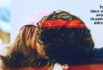 """据外媒报道,近日""""甜茶""""提莫西·查拉梅与德普女儿莉莉-罗丝·德普在街头拥吻被拍,恋情得到确认!"""