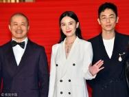 东京电影节今日开幕 海清牵手黄景瑜优雅亮相红毯