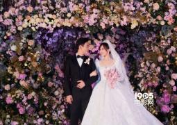 唐嫣工作室曝婚礼现场照 梦幻婚礼细节处处显爱意