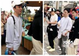 王思聪日本被偶遇 校长吃完热狗陪女友逛环球影城