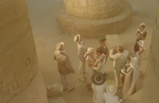 四千年的文化这样被推下 也太破坏文物了吧!