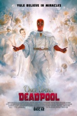 《死侍往事》发布新版海报 死侍张开双臂进天堂