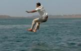 《印度合伙人》跳河片段