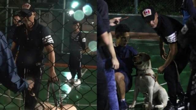 任达华新片扮演视障人士 片场戴上眼罩仅靠导盲犬带路