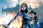 《阿丽塔:战斗天使》海报 半机械少女战斗中成长
