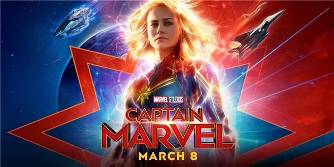 《惊奇队长》全新预告 女性超级英雄英姿飒爽