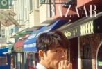 """近日,""""鬼怪大叔""""孔刘登封韩国版《时尚芭莎》封面。"""