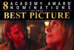 昨晚,第91届奥斯卡金像奖提名名单出炉!《罗马》《宠儿》以10项提名领跑,《一个明星的诞生》《副总统》获得8项提名紧随其后,《黑豹》获得7项,《黑色党徒》6项,《波西米亚狂想曲》《绿皮书》获5项,众多入围影片纷纷在名单公布后发布庆祝图片。