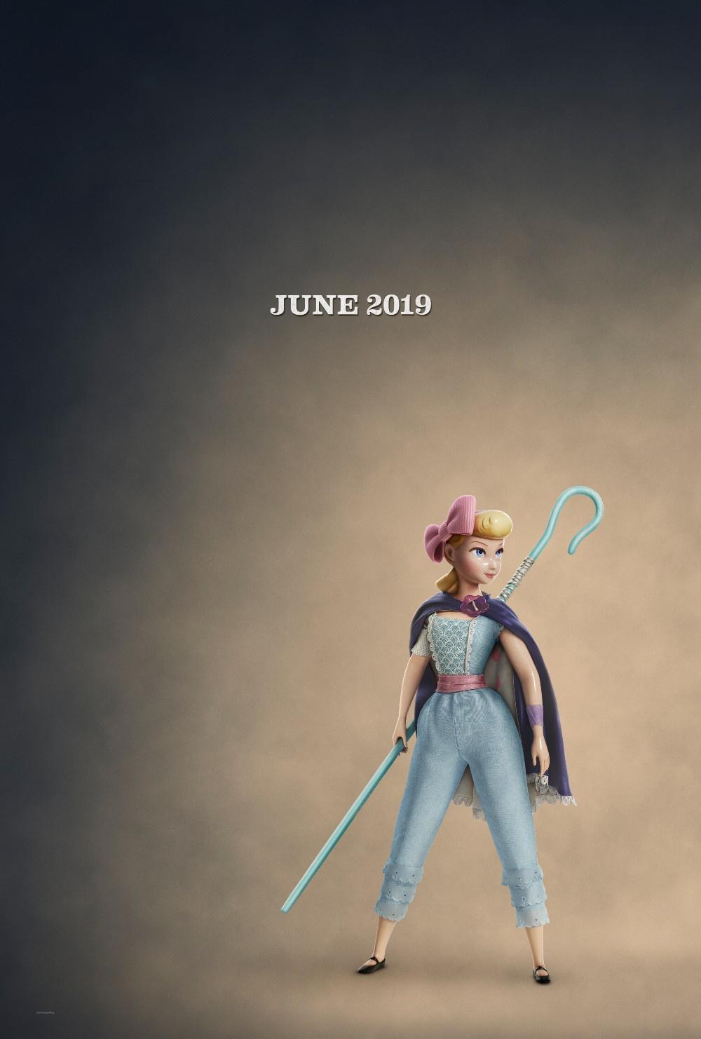 《玩具总动员4》曝光海报 牧羊女全新造型回归