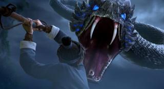 """《白蛇:缘起》""""水上激战""""片段 白蛇遇同族袭击"""