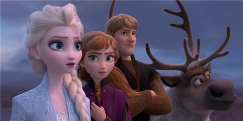 《冰雪奇缘2》曝预告主角齐亮相 艾莎设法破海啸