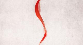 """《流浪地球》中国风海报 水墨衬着""""地球求生之路"""""""