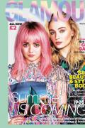 三傻二丫登英国杂志封面 彩色头发极具迷幻未来感