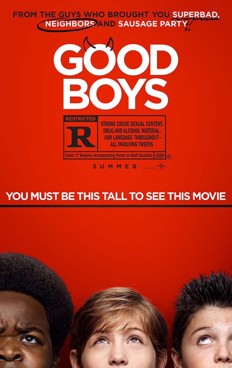 电影《好小子们》曝光预告海报 暗示影片为限制级