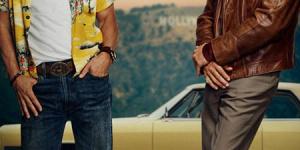 《好莱坞往事》曝首张海报 小李子、皮特双双亮相