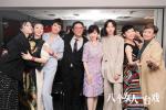 《八個女人》觀影派對 半個香港電影圈齊聚call