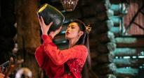 張天愛紅衣造型美艷 CCTV6電影頻道4月11日11:20播出《鮫珠傳》
