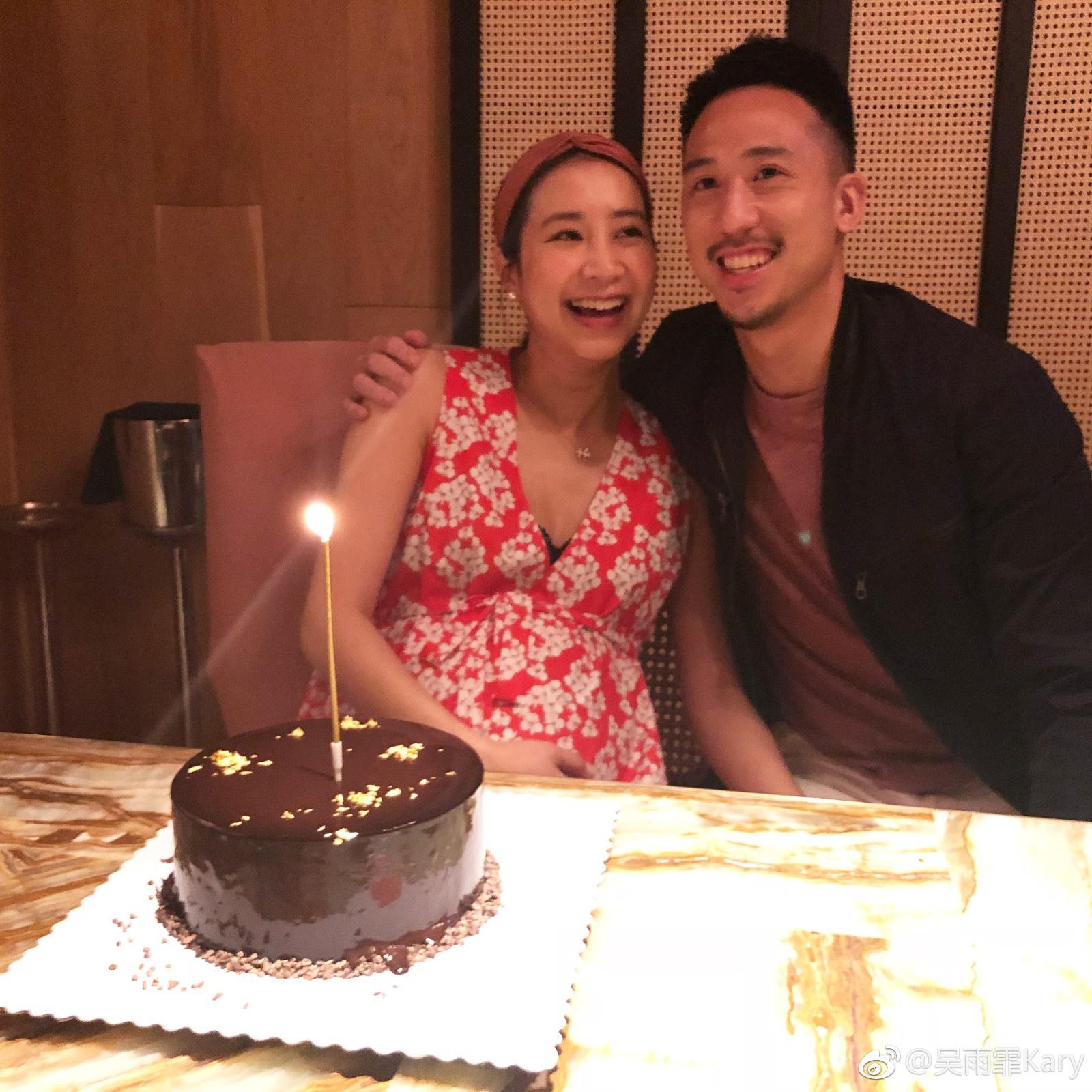 吴雨霏宣布怀二胎喜讯 大儿子刚满十个月将成哥