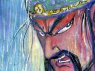 国漫《武圣关公》首发海报 蔡志忠手绘近万幅手稿