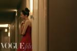 关晓彤戛纳红裙造型尽显曼妙身姿 网友:背影绝了