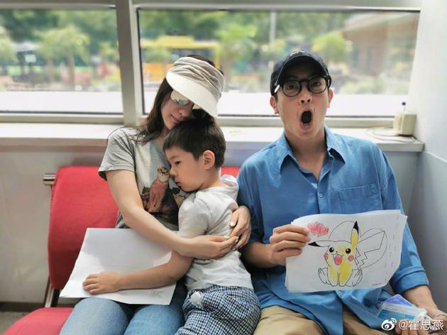 嗯哼幼兒園畢業將升小學 霍思燕:他對未來有困惑