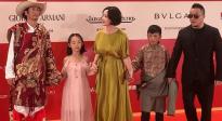 第22届上海国际电影节闭幕红毯 茅盾文学奖获得者阿莱亮相
