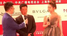 上影節閉幕式吳京亮相膚色驚人 感言這是獎勵勞動者的時代