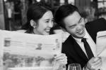 官宣!張若昀唐藝昕曬婚紗照:就這樣笑一輩子吧
