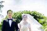 张若昀唐艺昕婚礼现场照 合跳双人舞梦幻似童话