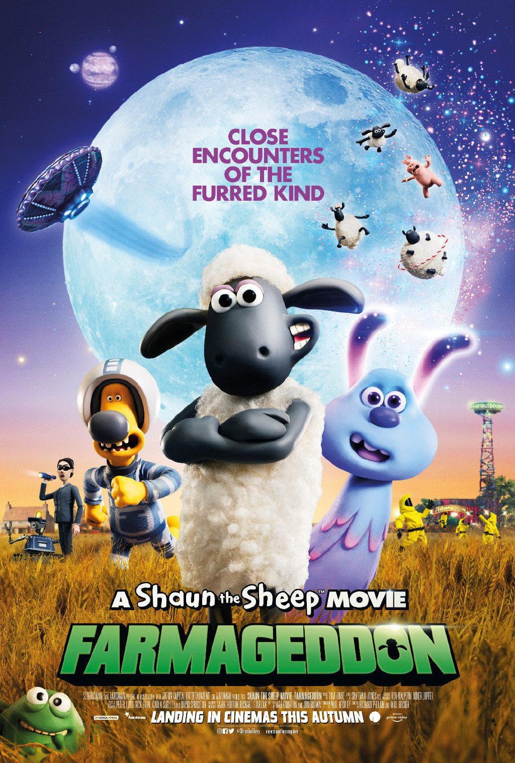 《小羊肖恩2》新预告肖恩勇闯太空 凯丽·米洛献唱