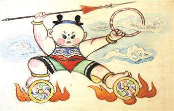 在集神话,童话,传奇于一身《哪吒传奇》中,小哪吒被女娲选为正义化身图片