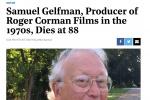 電影制片人格爾夫曼去世 曾推廣《瘋狂的麥克斯》