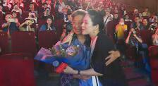 章子怡从影20年作品展开幕式 适逢教师节感谢师恩