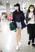 关晓彤王珞丹刘雯秀长腿 女星机场造型大比拼