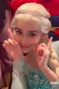 热巴张柏芝杨颖 女星版《冰雪奇缘》艾莎谁最美