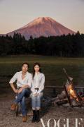 林志玲AKIRA夫妇合体登封 详谈两人爱情故事